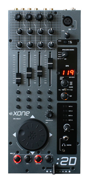 Allen & Heath Xone:2d Mixer