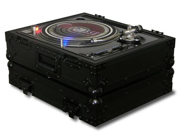 Odyssey FZ1200BL Black Label Series Universal Turntable Flight Case
