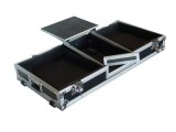 ProCases AC-DJ12WLT DJ Coffin for Battle Style Turntables + 12-inch Mixer