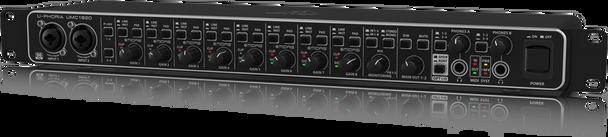 Behringer U-PHORIA UMC1820 Audiophile 18x20, 24-Bit/96 kHz USB Audio/MIDI Interface with MIDAS Mic Preamplifiers