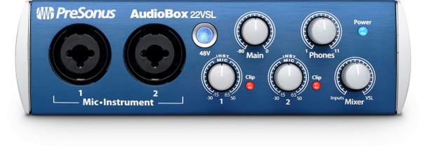 AudioBox 22 VSL Advanced 2x2 USB 2.0 Recording Interface