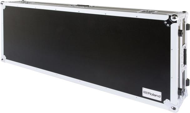 Roland 76-key keyboard case with wheels
