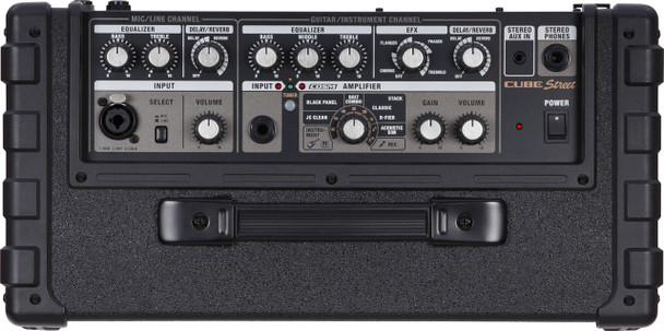 Roland 2-channel battery-powered amp/mini PA w/ COSM