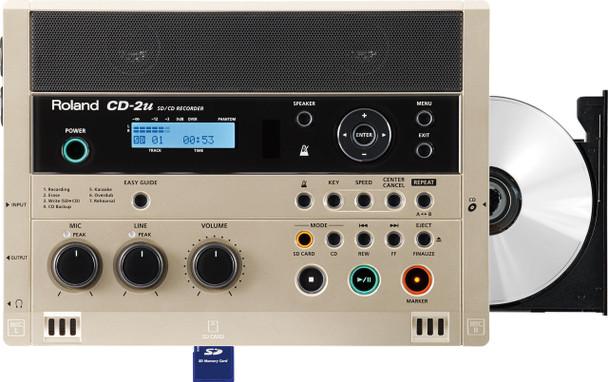 Roland SD/CD Recorder, CD Burner, Music and Language trainer