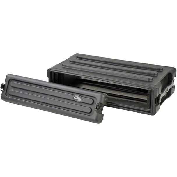 SKB 1SKB-R2S 2 Rack Unit Roto Molded Shallow Rack Case
