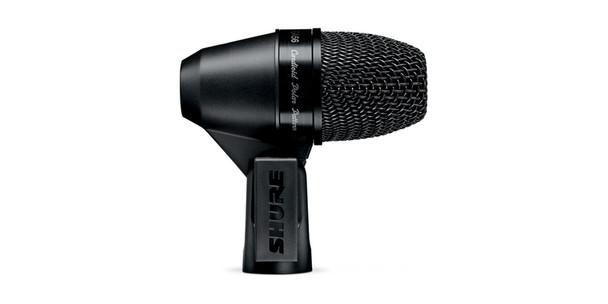 Shure Cardioid swivel-mount dynamic snare/tom microphone - AP56DM drum mount, XLR-XLR cable