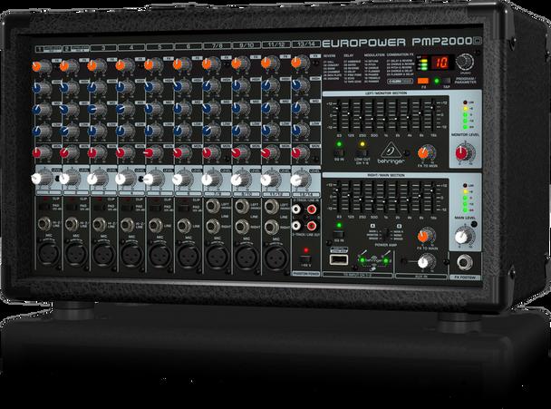 Behringer PMP2000D 2000-Watt 14-Channel Powered M