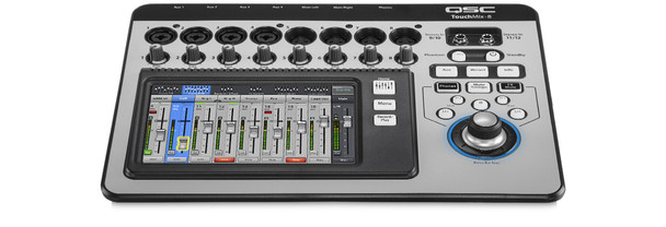 QSC TouchMix 8 Compact Digital Mixer