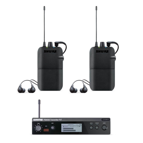 Shure PSM300 In-Ear Monitoring System Twin Pack