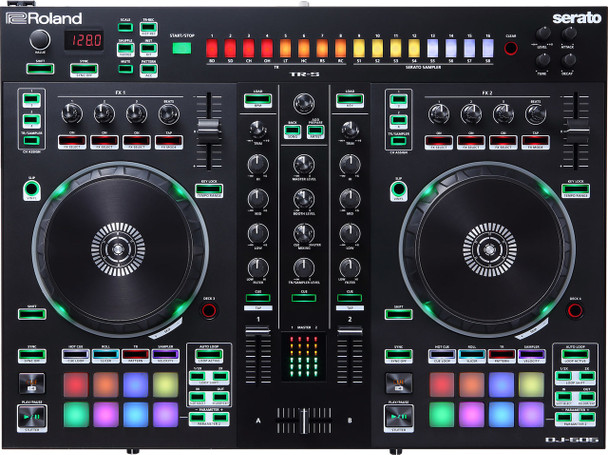 Roland DJ-505 DJ Controller + Drum Machine
