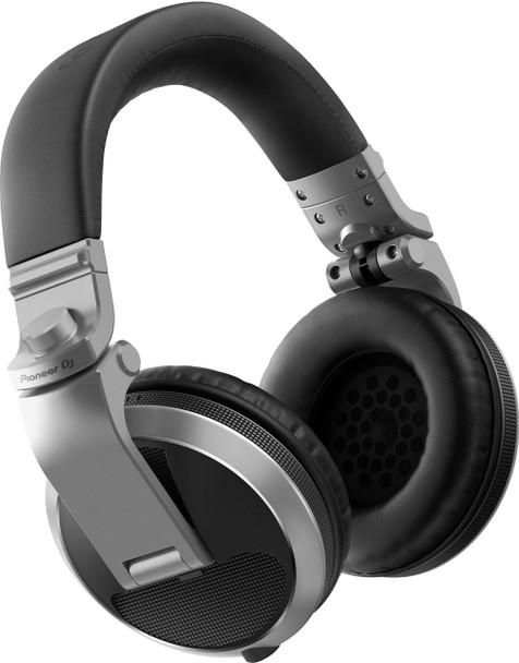Pioneer HDJ-X5 Professional DJ Headphones Silver