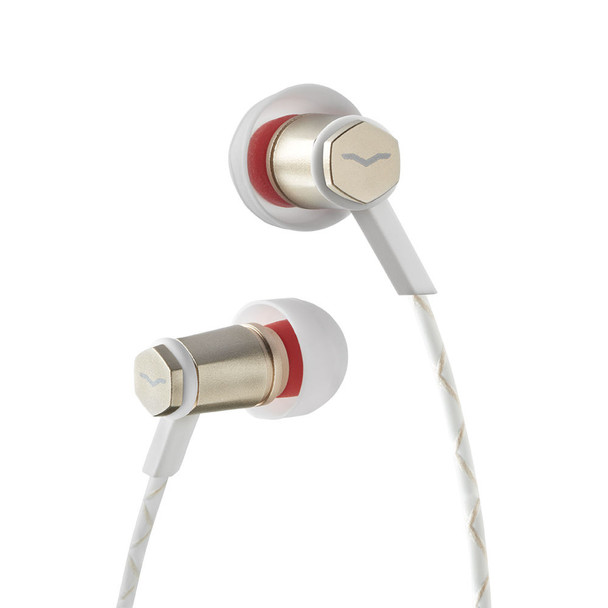 V-Moda Forza Metallo In-Ear Headphones (Rose Gold / Android)