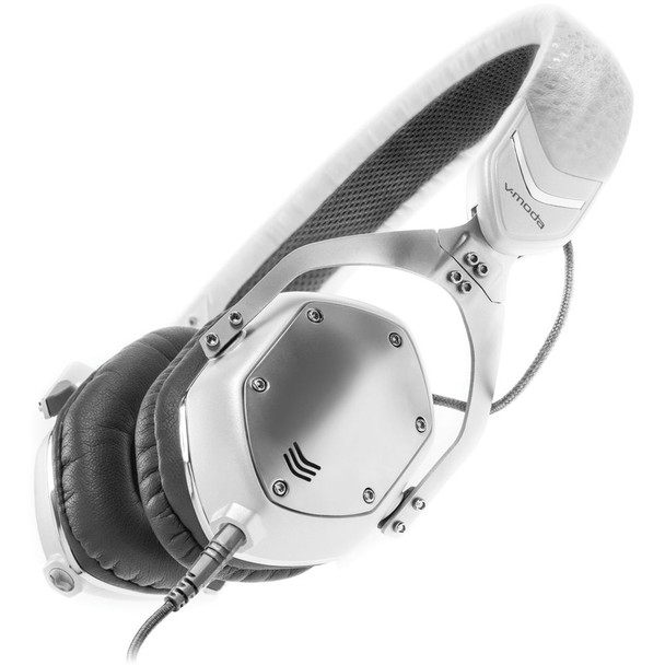 V-Moda XS - White Silver