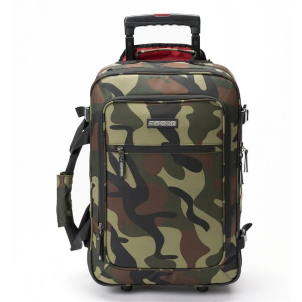 Magma DIGI Carry-­On Trolley Camo-­Green/Red