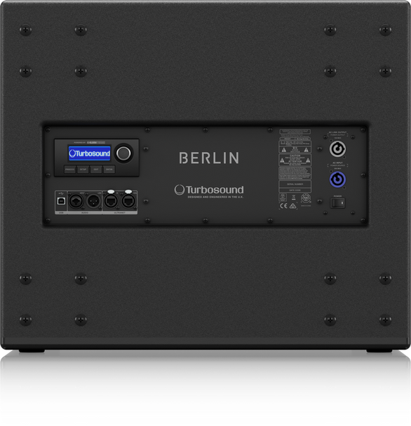 Turbosound Berlin TBV118LAN Powered Subwoofer