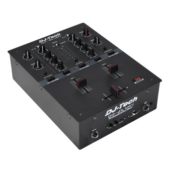 DJ Tech DIF-2S MKII 2-channel DJ Scratch Mixer With Integrated Mini  InnoFADER Pro