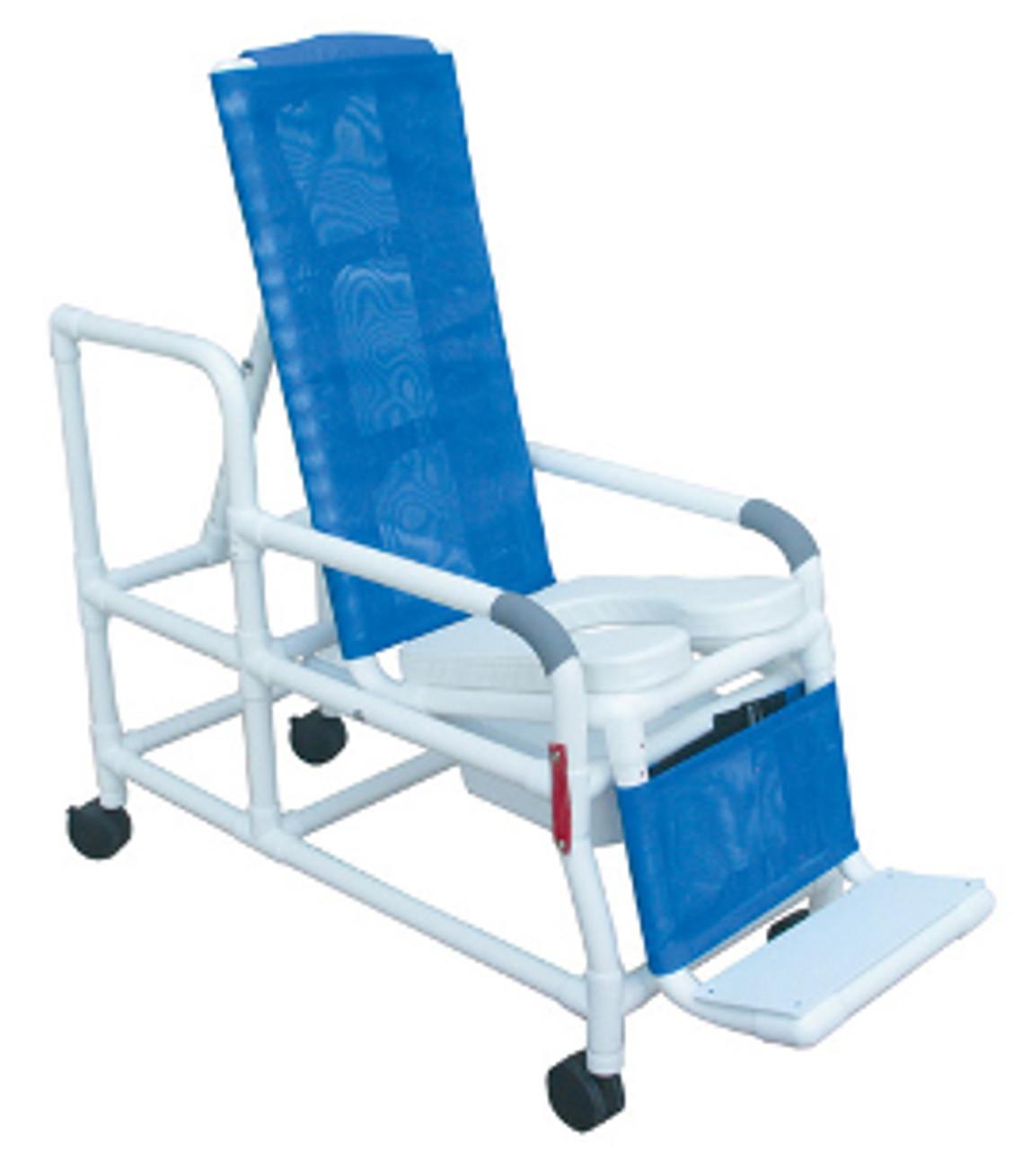 Mjm Tilt N Space Shower Commode Chair