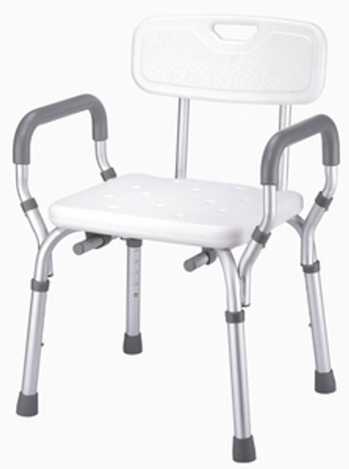 ACG Medical Supply's Bath & Shower Bench with Backrest & Arms in Rowlett, TX
