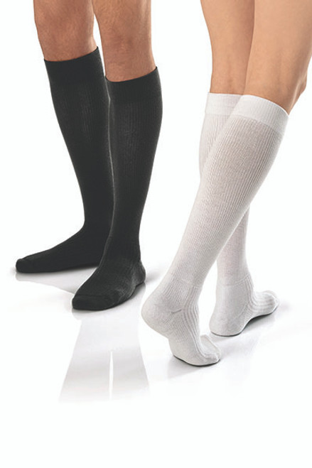 JOBST Activewear Athletic Socks (15-20 mmHg) WHITE