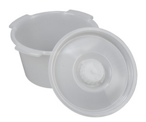 ACG Medical Supply's  Commode Pail with Lid 7 Quart
