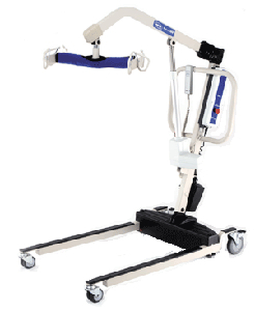 Invacare Reliant 600 Heavy-Duty Power Lift with Power Opening Low Base