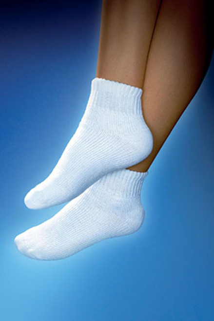 JOBST SensiFoot Diabetic Mini-Crew Socks