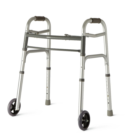 """Easy-Care Walker- Youth of 5"""" Wheels available at ACG Medical Supply"""