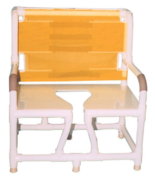 MJM Bariatric Bedside Commode Chair