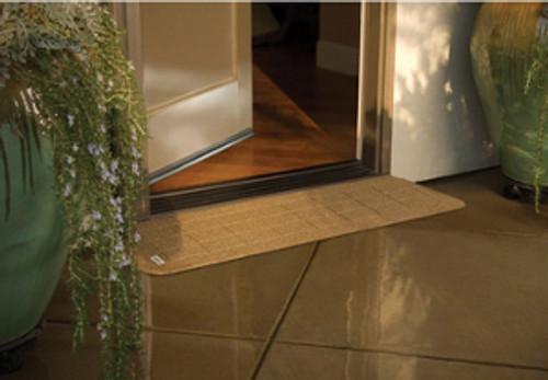 "PVI StoneCap Rubber Threshold Ramp - 8 1/8"" x 42"""