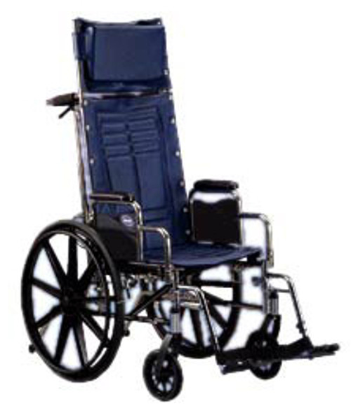 """Invacare Tracer SX5 Recliner Wheelchair 16"""" x 16"""" with Conventional Desk Arm"""