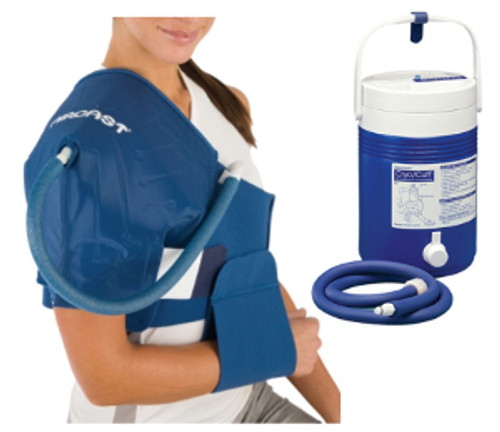 Aircast Cryo/Cuff Gravity Cooler - Shoulder with Extra-Long Strap