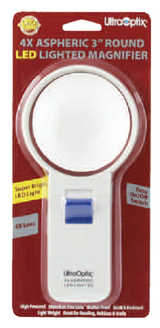"""Lighted Magnifier - 3"""" Round"""