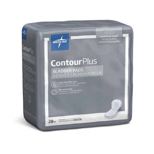 Medline ContourPlus Bladder Control Pad, Maximum