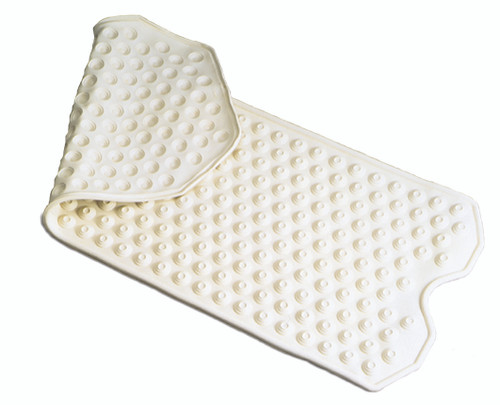 Essential Medical Deluxe Extra Large Safety Bath Mat in Cream - Front