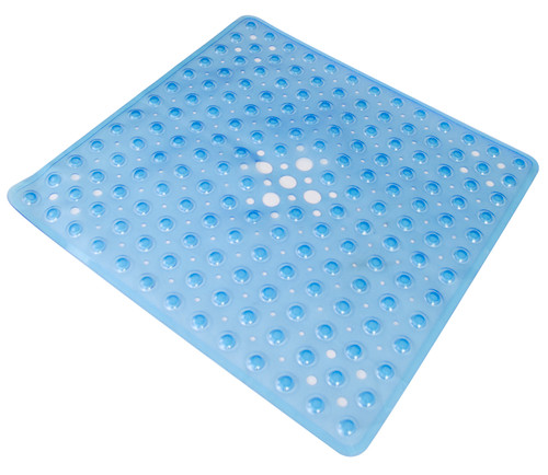 Essential Medical Shower Mat - Blue