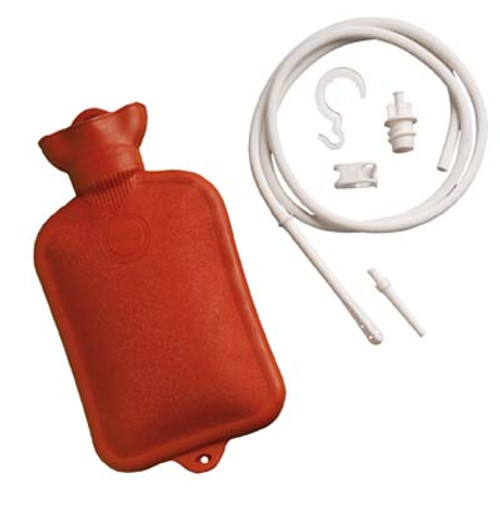 Relieve Pain by Using Rose Combination Douche & Enema System with Water Bottle from ACG Medical Supply