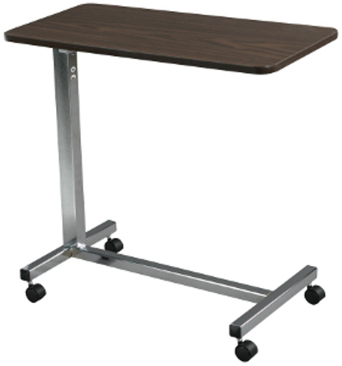Drive Non-Tilt Top Overbed Table - Chrome