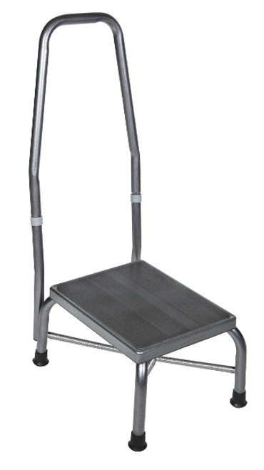 Drive Bariatric Footstool with Non-Skid Rubber Platform - with Handle