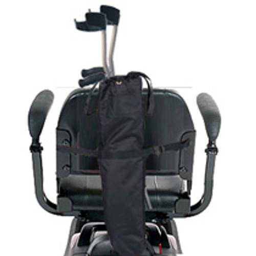 Golden Portable Scooter Forearm Crutch Holder
