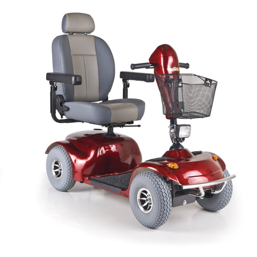 Golden Avenger Heavy Duty Scooter - Red
