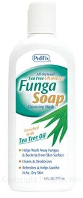 PediFix Tea Tree Ultimates FungaSoap - 13.5 oz bottle