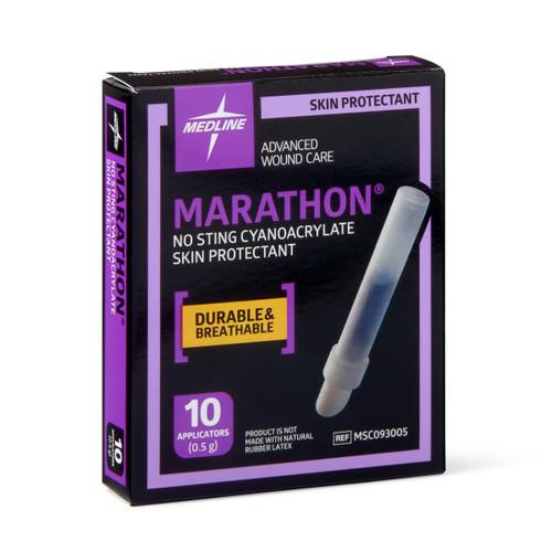 Medline Marathon Liquid Skin Protectant, 10Ct. Box