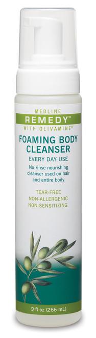 Medline Remedy Olivamine Foaming Body Cleanser - 9 oz