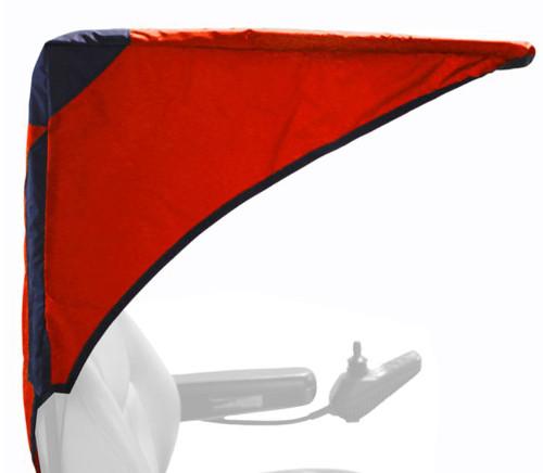 Diestco Weatherbreaker Canopy - Base Model - Cranberry Red