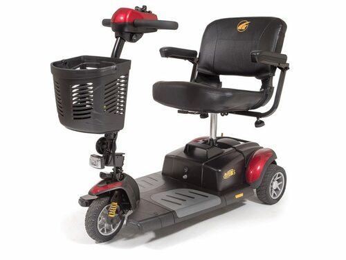 Golden Buzzaround XLS 3-Wheeled Lightweight Portable Scooter - Main
