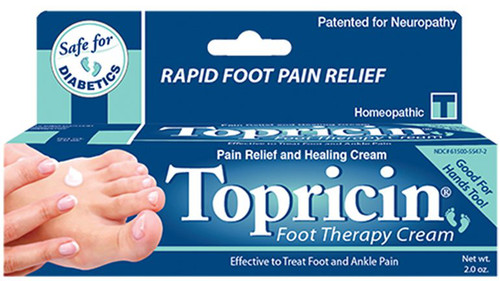 Topricin Foot Therapy Cream - 2 oz