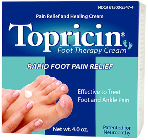 Topricin Foot Therapy Cream - 4 oz