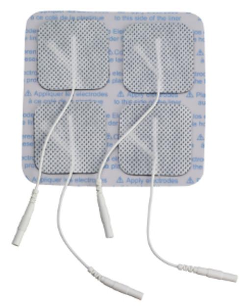 Drive TENS Unit Electrodes - Square Pre-Gel