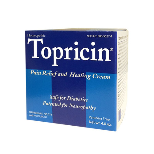 Topricin Pain Relief Cream, 4 oz. Jar