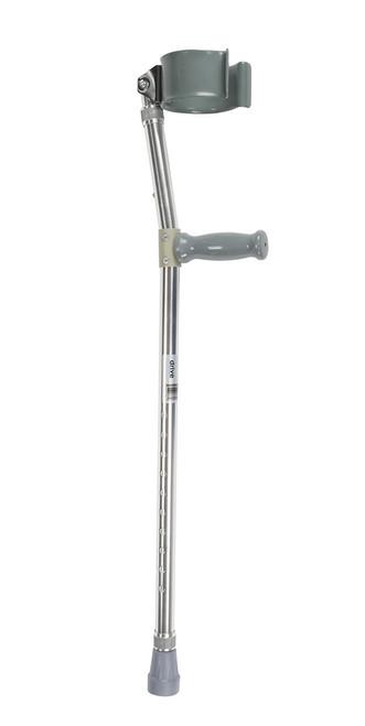 Drive Bariatric Steel Forearm Crutches